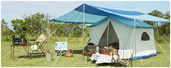401のキャンプ道具 テント